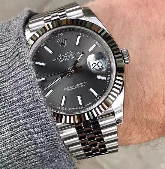 size 40 97820 4d176 2018ロレックス(ROLEX)の時計デイトジャスト126334 オイスタースチール&ホワイトゴールド