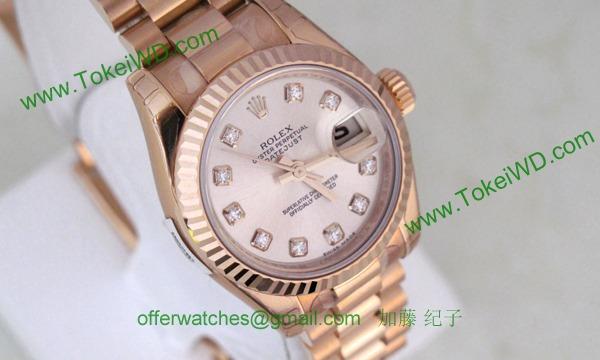 ロレックス(ROLEX) 時計 デイトジャスト 179175G