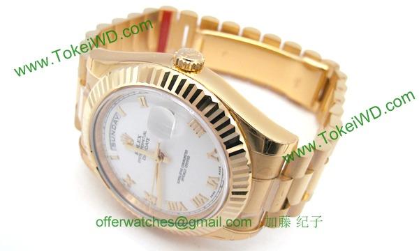 ロレックス(ROLEX) 時計 デイデイトII 218238