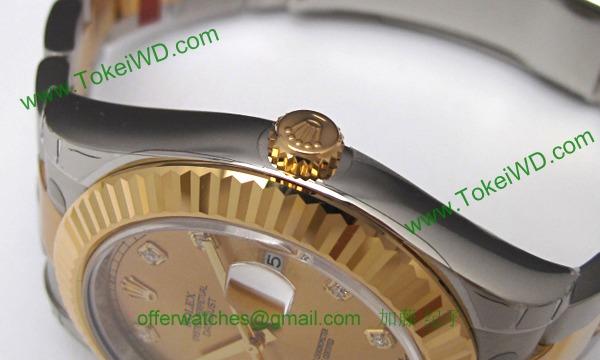 ロレックス(ROLEX) 時計 デイトジャストII 116333G