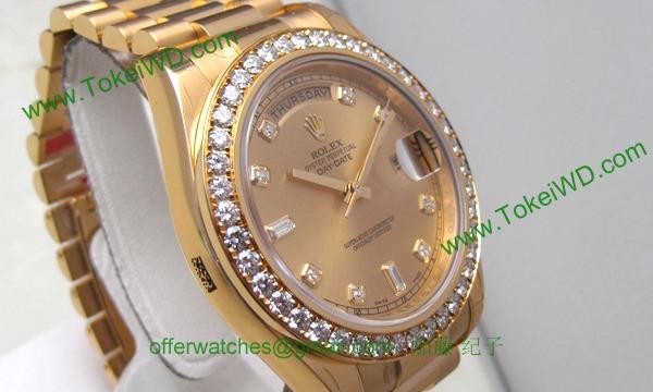 ロレックス(ROLEX) 時計 デイデイトII 218348A