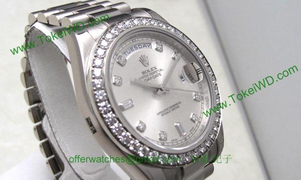 ロレックス(ROLEX) 時計 デイデイトII 218349A