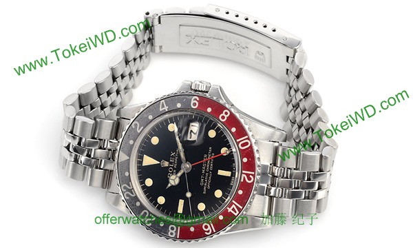 the latest 13a11 07665 ロレックス(ROLEX) GMT 1675 コピー 腕時計