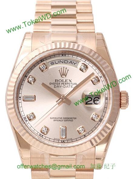 ロレックス 118235FA コピー 時計