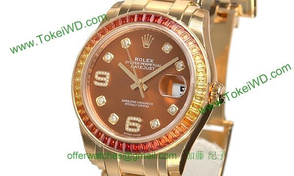 ロレックス スーパーコピー デイトジャスト 86348SAJOR パールマスター39mm 時計