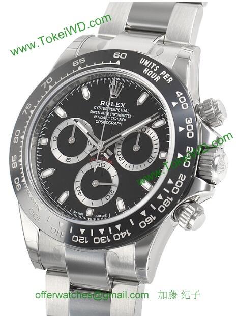 ロレックス 116500LNブラック スーパーコピー 時計