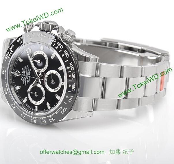 ロレックス 116500LNブラック スーパーコピー 時計[1]