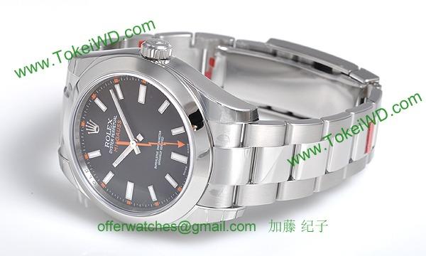 ロレックス(ROLEX) 時計 ミルガウス 116400