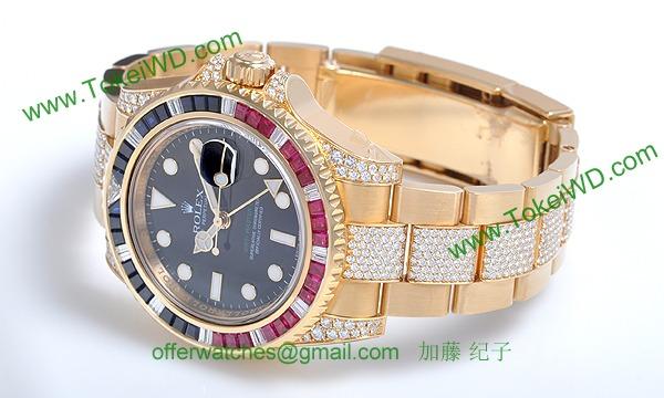ロレックス(ROLEX) 時計 GMTマスターII 116758SARU