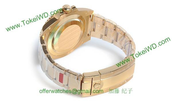 ロレックス(ROLEX) 時計 サブマリーナデイト 116618LB