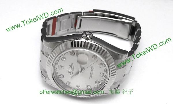 ロレックス(ROLEX) 時計 デイトジャストII 116334G