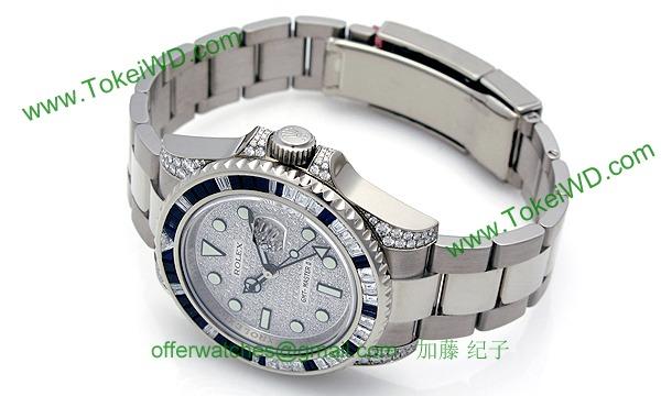 ロレックス(ROLEX) 時計 GMTマスターII 116759SA