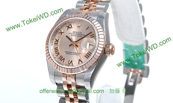 sale retailer fa6cd 7b8b4 ロレックス(ROLEX) デイトジャスト 179171 時計 コピー