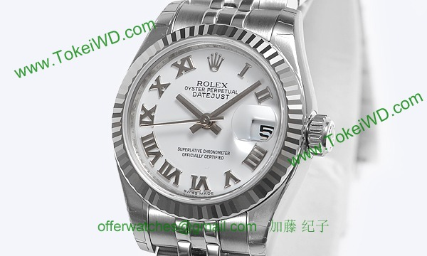 ロレックス(ROLEX) 時計 デイトジャスト 179174