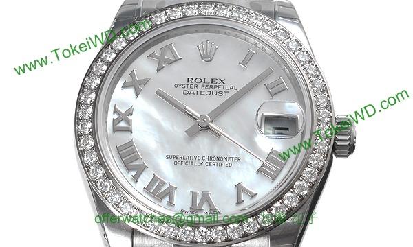ロレックス(ROLEX) 時計 デイトジャスト 178384NR