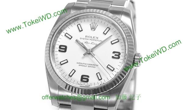 ロレックス(ROLEX) 時計 エアキング 114234