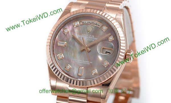 ロレックス(ROLEX) 時計 デイデイト 118235NG
