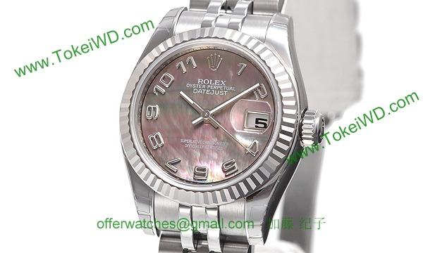 ロレックス(ROLEX) 時計 デイトジャスト 179174NA
