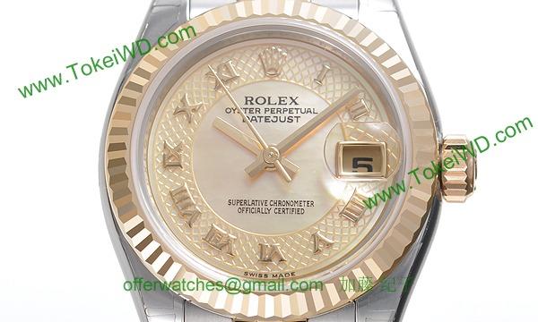 ロレックス(ROLEX) 時計 デイトジャスト 179173NRD