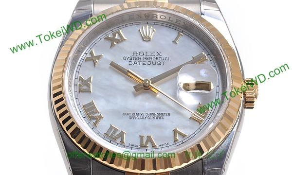 ロレックス(ROLEX) 時計 デイトジャスト 116233NR