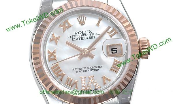 ロレックス(ROLEX) 時計 デイトジャスト 179171NR
