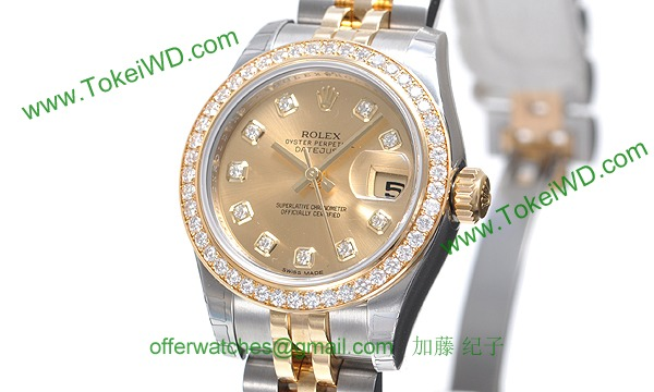 ロレックス(ROLEX) 時計 デイトジャスト 179383G