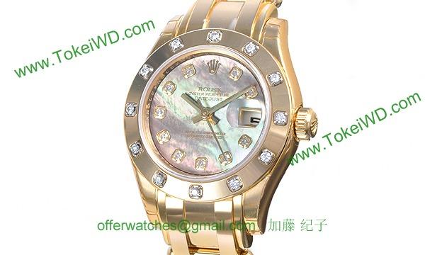 ロレックス(ROLEX) 時計 デイトジャスト 80318NG