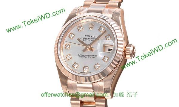 ロレックス(ROLEX) 時計 デイトジャスト 179175NG