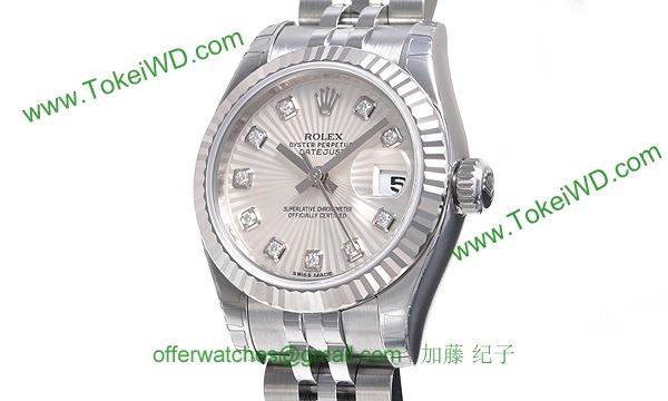 ロレックス(ROLEX) 時計 デイトジャスト 179174G