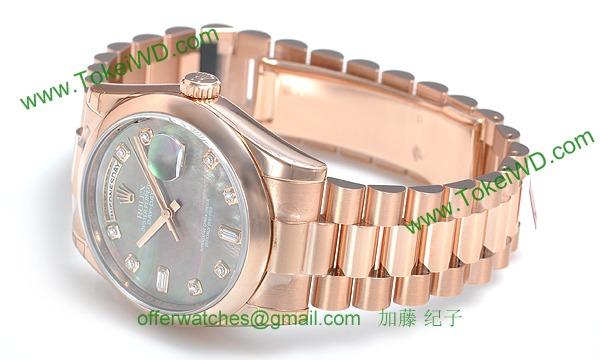 ロレックス(ROLEX) 時計 デイデイト 118205NG