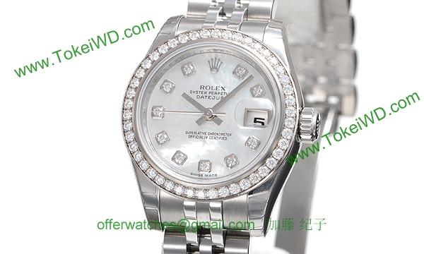 ロレックス(ROLEX) 時計 デイトジャスト 179384NG