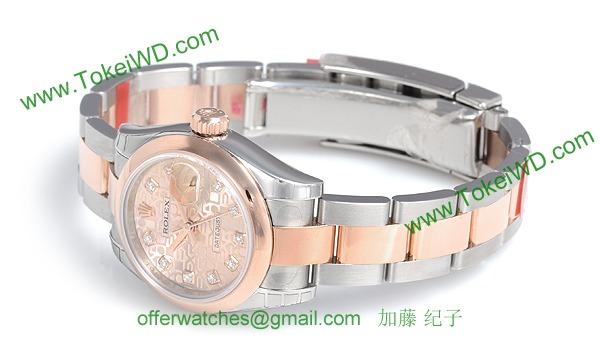 ロレックス(ROLEX) 時計 デイトジャスト 179161G