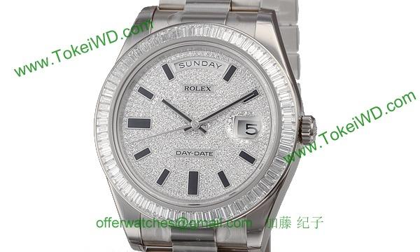 ロレックス(ROLEX) 時計 デイデイトII 218399BR