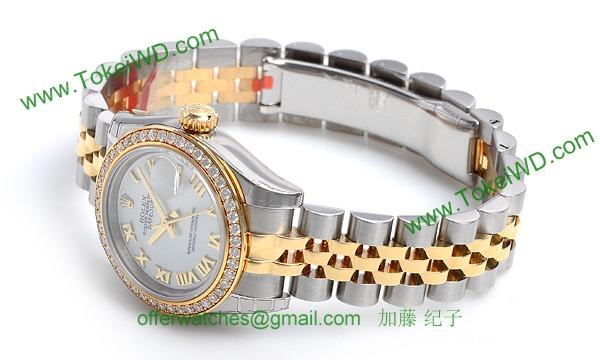 ロレックス(ROLEX) 時計 デイトジャスト 179383NR