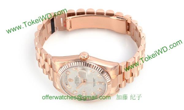 ロレックス(ROLEX) 時計 デイデイト 118235A