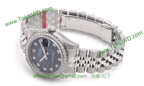 ロレックス(ROLEX) 時計 デイトジャスト 178384G
