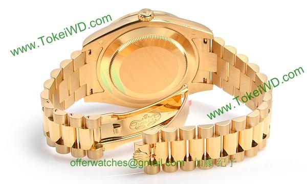 ロレックス(ROLEX) 時計 デイデイトII 218348BG