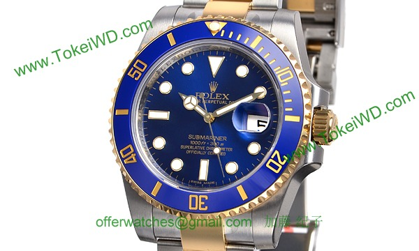 ロレックス(ROLEX) 時計 サブマリーナデイト 116613LB