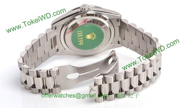 ロレックス(ROLEX) 時計 デイデイト 118399XR