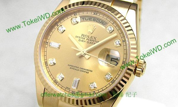 ロレックス(ROLEX) 時計 デイデイト 118238A