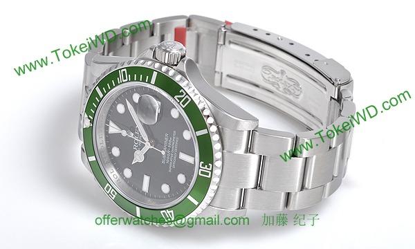 ロレックス(ROLEX) 時計 サブマリーナデイト 16610LV