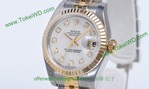 ロレックス(ROLEX) 時計 デイトジャスト 179173NG