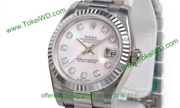 ロレックス(ROLEX) 時計 デイトジャスト 179179NG