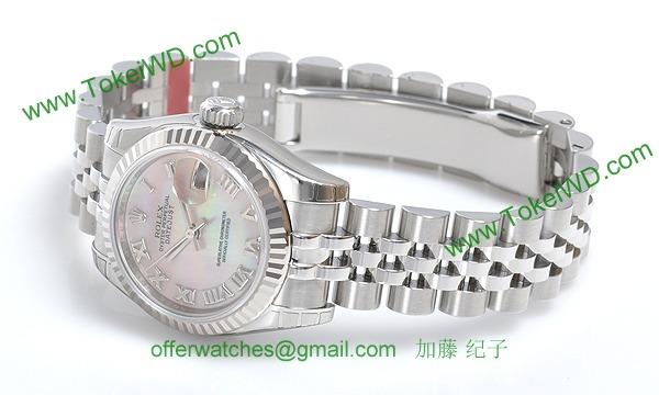ロレックス(ROLEX) 時計 デイトジャスト 179174NR