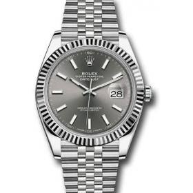 size 40 4681d 4c26a 2018ロレックス(ROLEX)の時計デイトジャスト126334 オイスタースチール&ホワイトゴールド