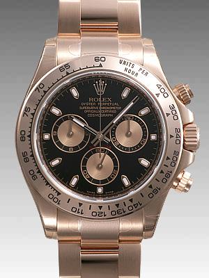 new concept c9441 3888c ロレックス(ROLEX)人気 デイトナ ピンクゴールド 新型 116505 スーパーコピー 時計
