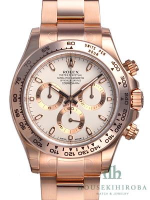 new concept af2b2 04d9d ロレックス(ROLEX)人気 デイトナ ピンクゴールド 116505 スーパーコピー 時計